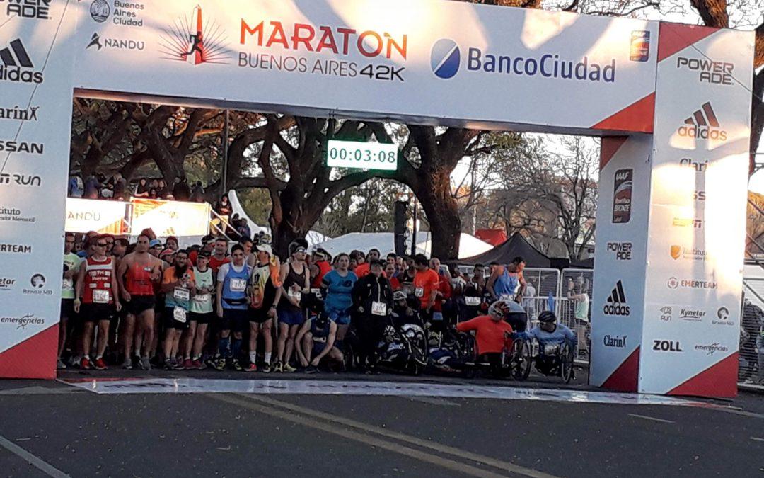 Los 21k y el Maratón Internacional de Buenos Aires pasaron a 2021