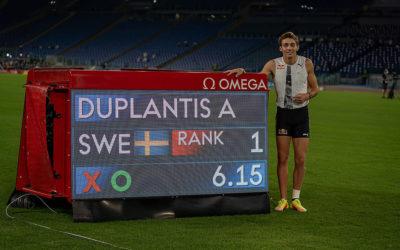 Diamond League: Histórico Duplantis en Roma