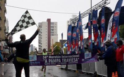 Bárzola y Ocampo: Campeones Nacionales de Maratón